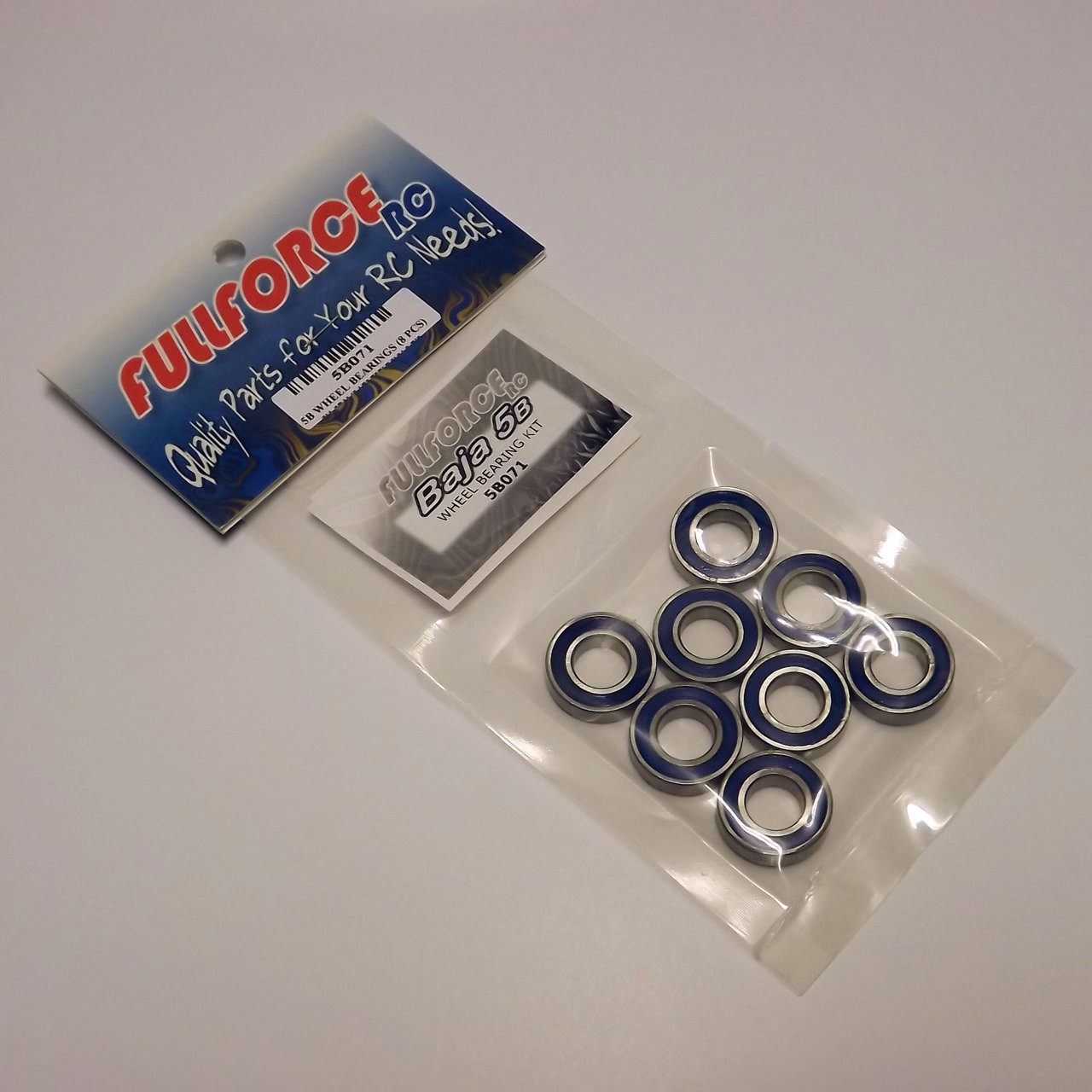 HPI Baja 8 piece wheel bearing kit packed and ready to ship!