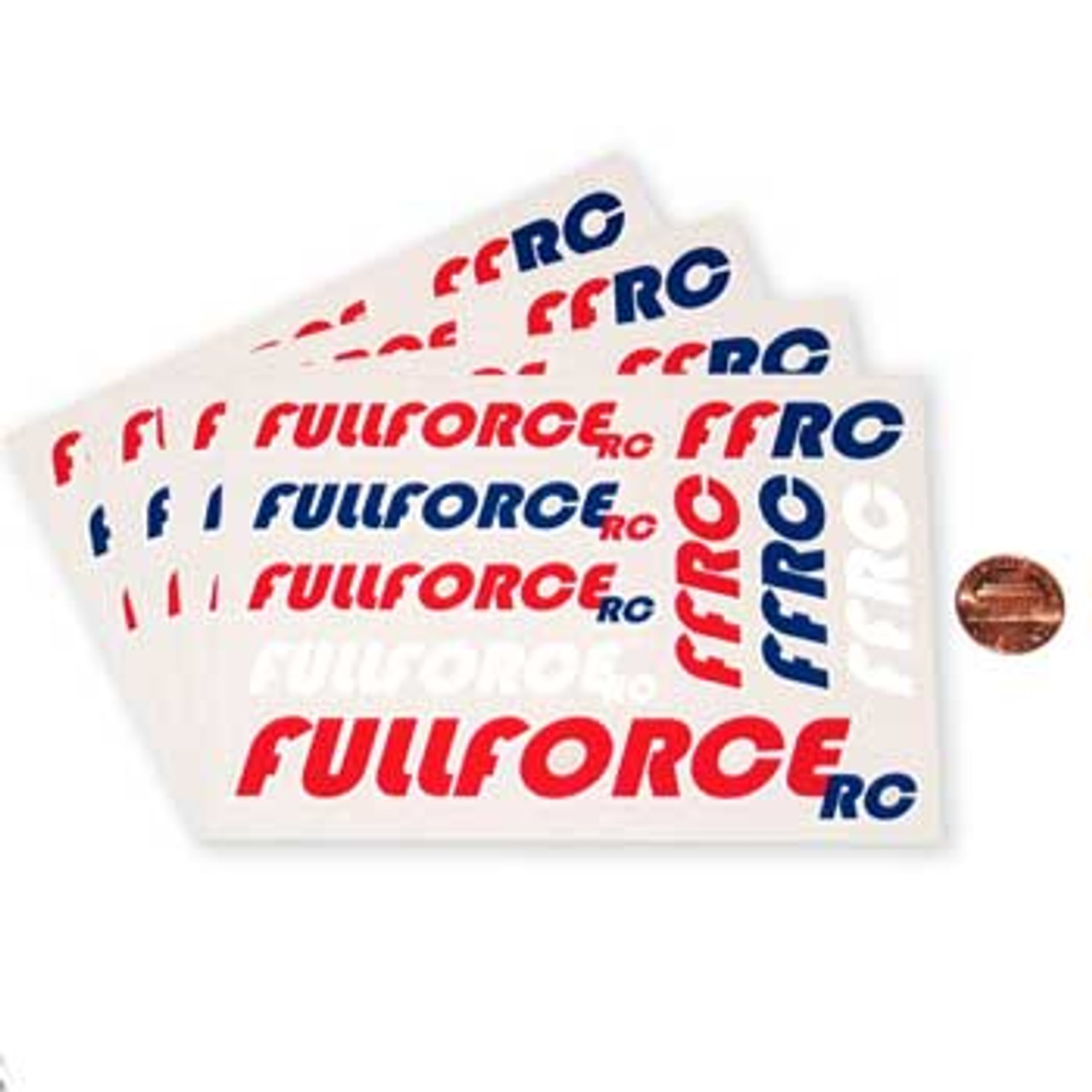 FULLFORCE RC LARGE DECAL SHEET