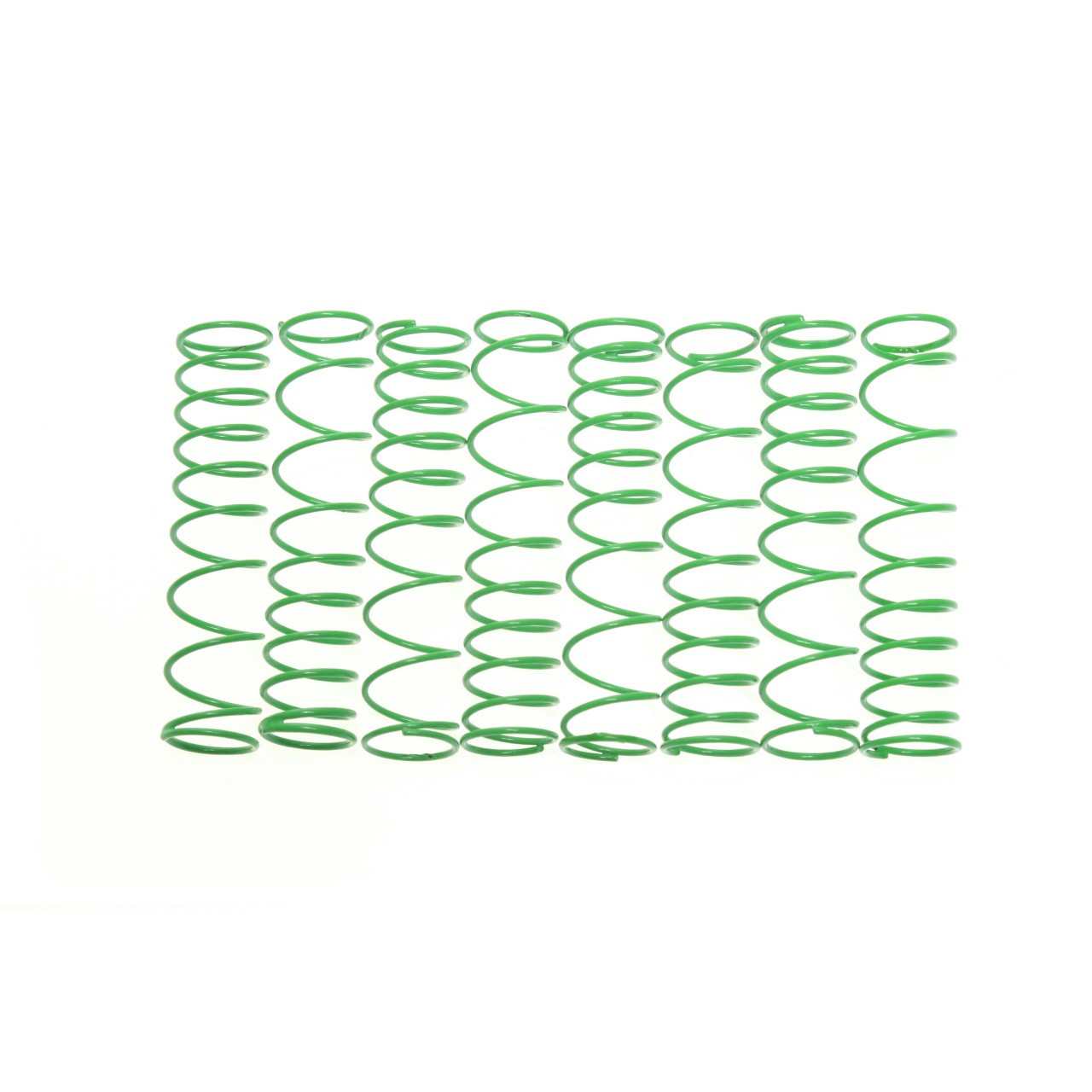 Traxxas T-MAXX E-MAXX Dual rate springs in Green. 8 Pack