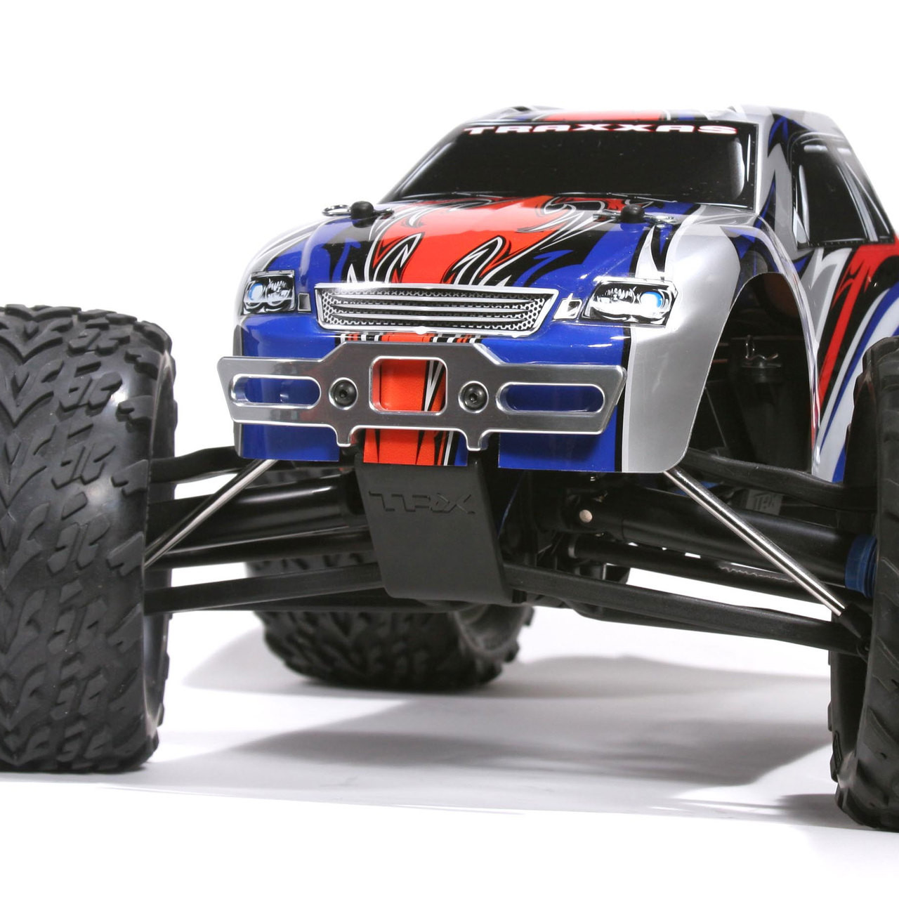 TRAXXAS REVO POLISHED ALUMINUM FRONT AND REAR BUMPERS - SALE
