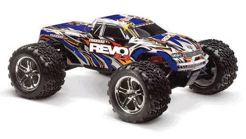 Fits the updated Traxxas Revo 3.3 & up!
