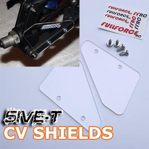 You get one pair of our CV shields and mounting screws.