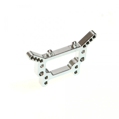 Aluminum rear shock tower for the Associated RC18T also fits the RC18T2 and mini Rival!