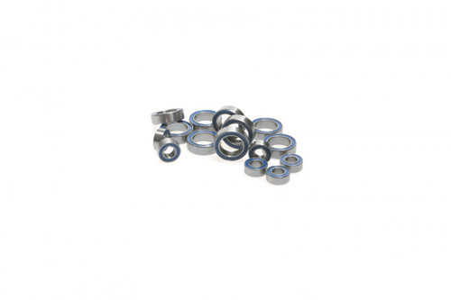 Associated RC18 series Blue rubber sealed 15 piece bearing kit from Fullforce RC.