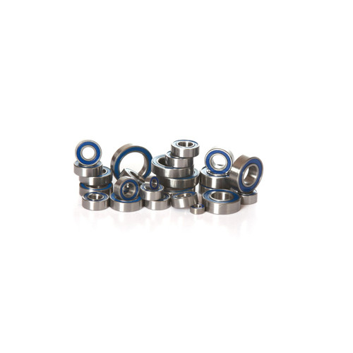Team Associated Mini MGT 3.0 full replacement rubber sealed bearing kit.   Contains every single bearing on this lot little truck!