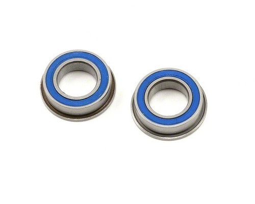 Bearings Metric Series 4x8x3 MM Flanged Rubber Sealed (2 Pack) (MF84 2RS)