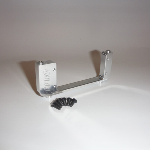 HPI Baja Aluminum Servo mount for aftermarket servos only!  Cannot be used on stock servo.  For use on the 5B 5T 5SC SS and more.