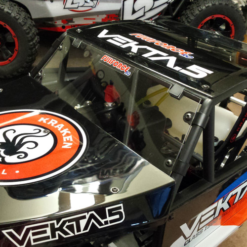 Kraken Vekta.5 Clear Front Windshield from us here at Fullforce!  Looks great on there and keeps out dirt and debris too!