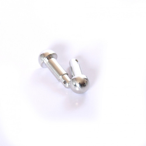 HPI Baja series aluminum gear pin covers - Ball style!