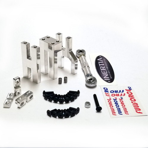 V2 mounts are now shipping!  Kraken Vekta Aluminum Dual Servo mount Kits are here.  This is a a collaboration project with Inertial Racing Products (IRP) who are supplying the servo link.