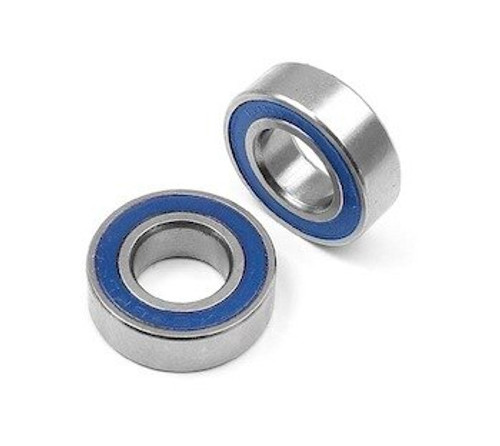 7x14x5 MM Blue Rubber Sealed Bearings Metric  (2 Pack) (687 2RS)