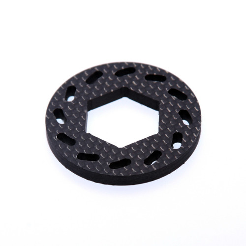 HPI Baja 5B 5T and 5SC carbon fiber replacement brake disk.  For use with our aluminum brake pads.