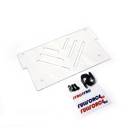 Losi DBXLE & DBXLE 2.0 Rear Body Panel from Fullforce RC.  Complete with install hardware.