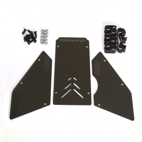 HPI Baja 3 piece windows available in transparent Smoked!  Complete with install hardware.