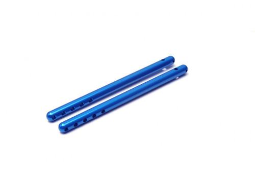 Traxxas T-MAXX E-MAXX Blue extended body mount posts.