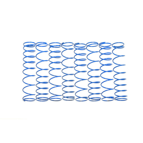 Traxxas T-MAXX E-MAXX Dual rate springs in Blue.  8 Pack