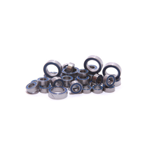 Traxxas Mini E-REVO MERV Full 33 PC Bearing kit.  Fits 1/16th Mini E-Revo, 1/16th Mini Slash and Slash 4x4, 1/16th Summit and Summit VXL , 1/16th Grave Digger, 1/16th Ford Fiesta, 1/16th Ford Mustang Boss 302 and Mustang VXL, and the 1/16th Rally VXL!