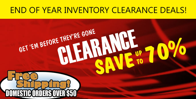 Clearance section at Fullforce RC!  RC18 Mini-T and many more.  Savings of up to 70% off.  Blowouts!