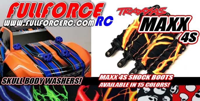 Traxxas MAXX 4S Shock Boots, Body washers and more