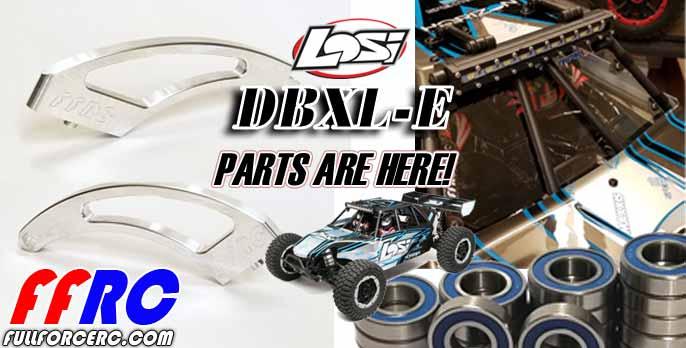 Losi DBXL-E Parts are here!