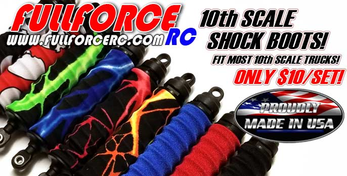 10th Scale Shock Boots!  Only $10/set
