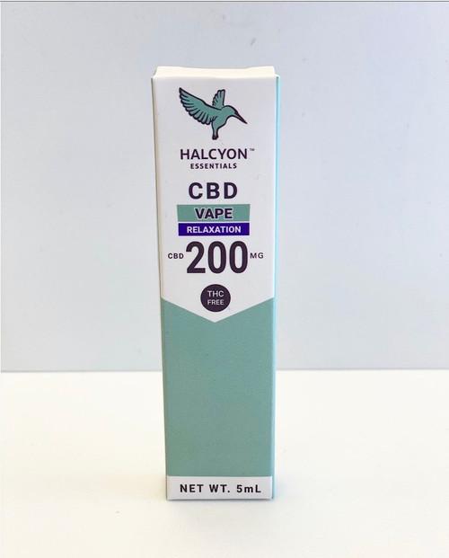 Halcyon CBD  Vape THC FREE 200mg 'Relaxation'