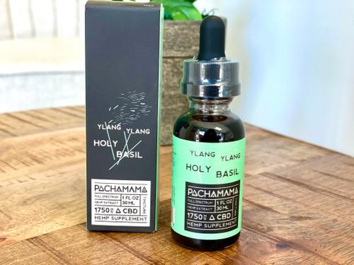 Pachamama cbd oil, holy basil, cbd oil