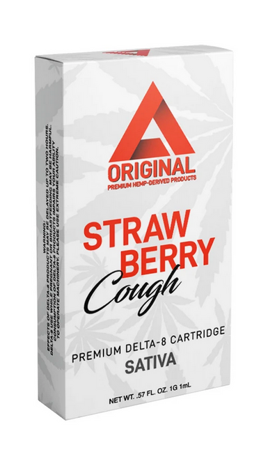 Effex Strawberry Cough Delta 8 Sativa Cartridge 1g
