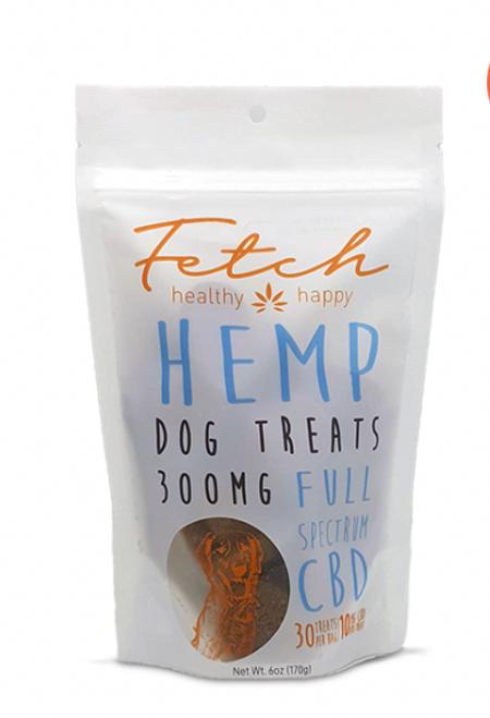 Fetch Full Spectrum Dog Treats 300 Mg