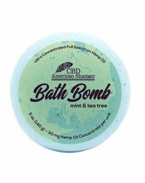 American Shaman Mint & Tea Tree Bath Bomb