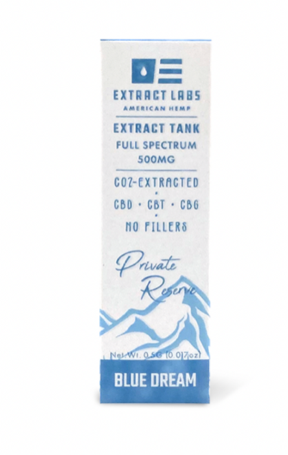 Extract Labs Blue Dream Full Spectrum 500 Mg CBD Vape