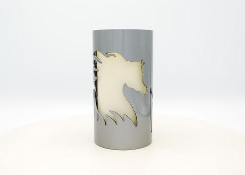 Arabian Silhouette - Metal Candle Holder Luminary