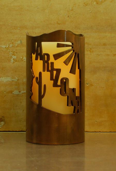 Arizona - Metal Candle Holder Luminary