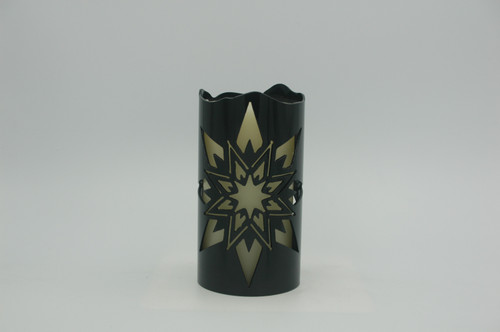 Star Explosion - Metal Candle Holder Luminary