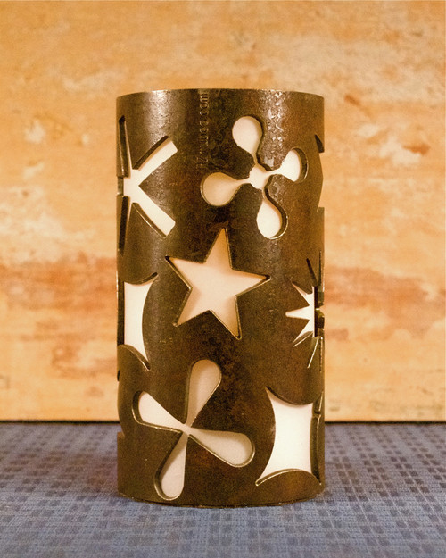 Stars - Metal Candle Holder Luminary