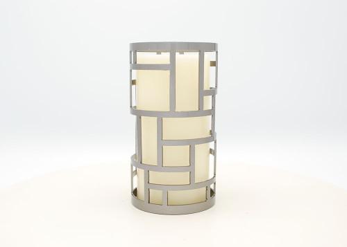 Rectangle Design - Metal Candle Holder Luminary