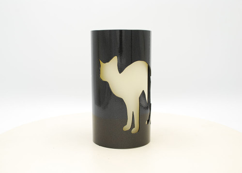 Cats - Metal Candle Holder Luminary