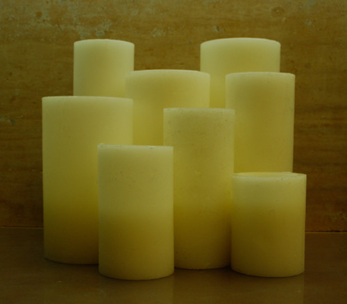 Flameless Bright White Special Sized LED Candles