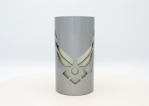 Airforce- Metal Candle Holder Luminary