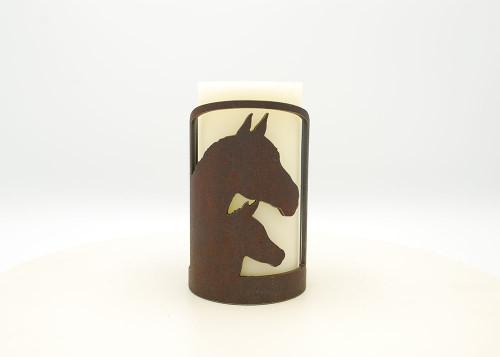 Horses Metal Napkin Holder