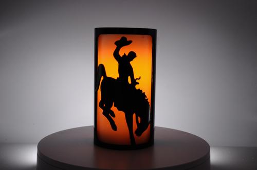 Wyoming - Metal Candle Holder Luminary