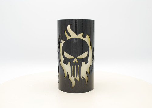 Skull - Metal Candle Holder Luminary