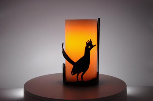 Image produced with optional LED candle