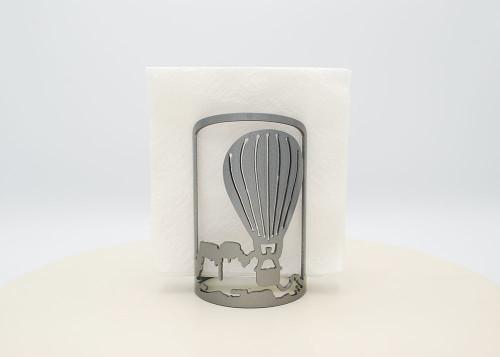 Balloon with Mountain Metal Napkin Holder