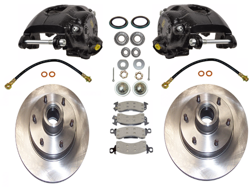 "1963-1987 Chevy & GMC C10 Premium 6 Lug 6x5.5"" Bolt Pattern Pro Suspension Disc Brake Kit - 600201"