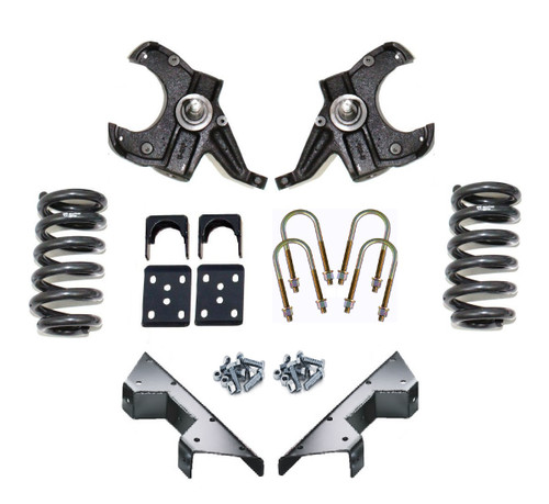 1973-1987 Chevy & GMC C-10 2wd 4/6 Premium Drop Kit - 7387C1046