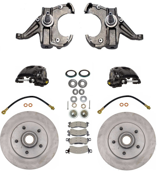 1963-1987 Chevy & GMC C10 Disc Brake Conversion Kit - C10DBKIT