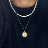 OUR LADY OF PROMPT SUCCOR NECKLACE