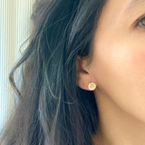 CHI RHO STUD EARRINGS