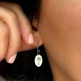 Catholic Jewelry - Most Holy Eucharist earrings